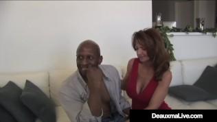 Texas Cougar Deauxma & Colombian Ariella Ferrera Fuck A BBC!