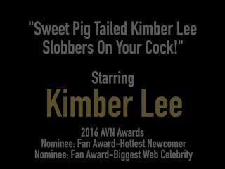 Blowjob/pig on cock sweet kimber
