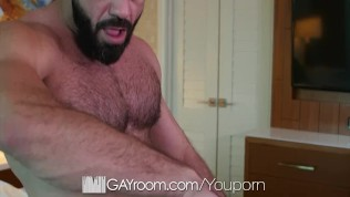 GayRoom DEEP big dick rub down massage