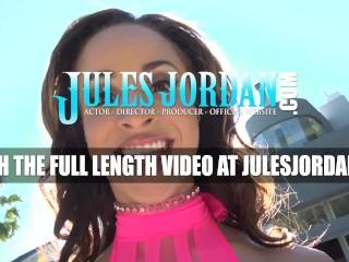 Jules Jordan - Teanna Trump Gets Her Face Covered In Jizz
