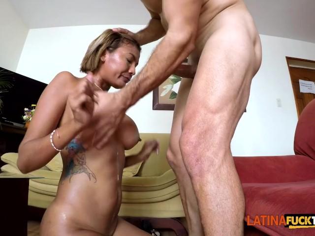 Hairy Pussy Latina Creampie