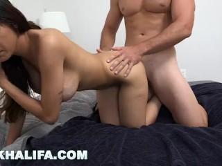 MIA KHALIFA - Pretty Arab Woman Taking It Doggystyle From Sean Lawless