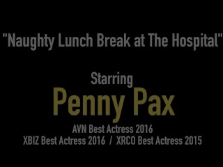 Nurses Penny Pax & Cali Carter Dildo Drill Their Juicy Cunts