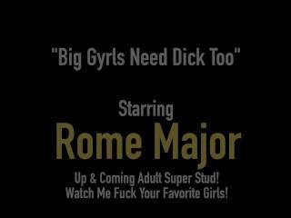 Big Black Cock Rome Major Wrecks BBW Mizz Luvli Black!