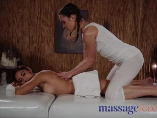 Massage Rooms Petite Mexican cutie with braces fucked by older woman