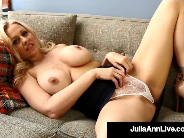 Potty Mouth Milf Teacher Ms. Julia Ann Gives Joi!