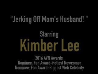 Young Kimber Lee Gives Mom's Husband A Handjob!