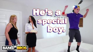BANGBROS – Juan El Caballo Loco Gets MILF Reagan Foxx For His Birthday
