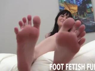 POV Femdom Fantasy And Foot Fetish Porn
