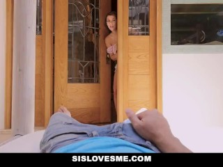 SisLovesMe - Thick Latina Valentina Jewels Gets Dicked