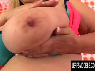 The Adult Video Experience Presents Fat Mature with Monster Tits Cami Cooper Pleasured by a Fucking Machine