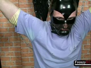 FrenzyBDSM Hot Bondage and Wax Domination Video