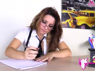 Fetish/pantyhose/feet with in you teases