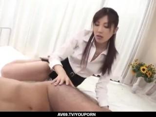 Kana Miura POV fucked and creamed in the pussy - More at 69avs.com