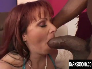Cheating MILF Kylie Ireland Takes an Extremely Girthy BBC in Her Asshole