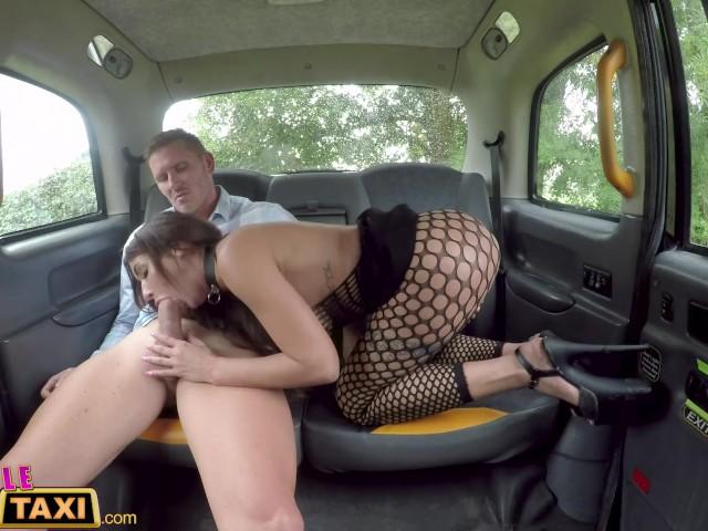Fake Female Taxi Interracial