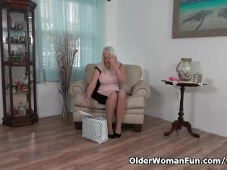 Milf/her panties soaked anna nyloned