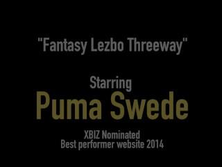 Busty Puma Swede Sandee Westgate & Club Sandy Eat Snatch!