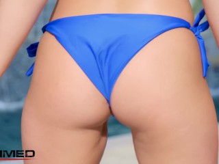 Rammed - PAWG Alexis Monroe Double Penetration Threesome