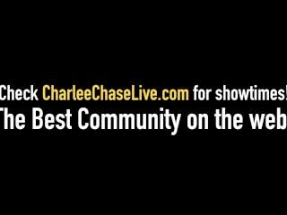 Milf Charlee Chase Invites Hubby To Fuck Plump Selah Rain!