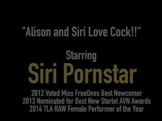 Hot PAWG Siri PornStar & Alison Tyler R Calf & Crack Fucked!