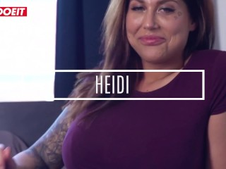 LETSDOEIT - Chubby EX-Girlfriend Nailed Hardcore in Her First Porn Movie