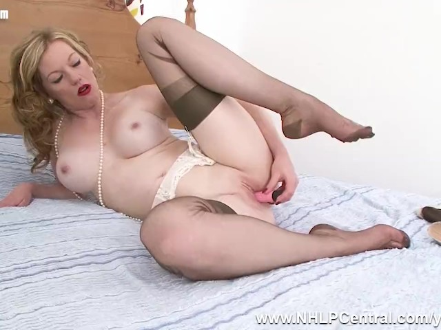 Milf Stockings Anal Squirt