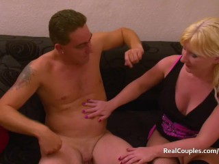 Charisma Gold squirts hard while being fucked