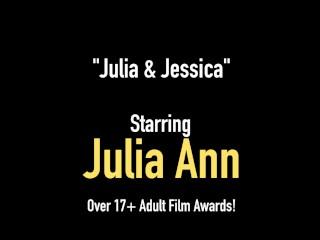 Busty Milfs Julia Ann & Jessica Jaymes Pussy Fuck!