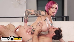 BANGBROS – Tyler Nixon Makes His Stepmom Anna Bell Peaks Squirt On Mom Is Horny