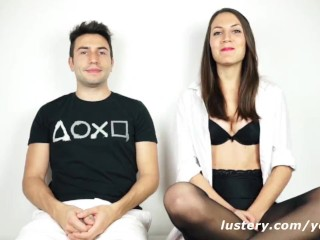 Adorable Young Brits Laugh Through Wild Sex Session