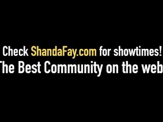 Hot Wife Shanda Fay Fucks DP Machine & Gets Butt Fucked!