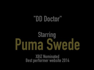 Busty Blonde Puma Swede Does 3Way Doctor Fuck With Hot Girls