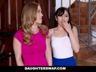 DaughterSwap - They Sucked Off Each Other's Dads