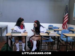 LittleAsians - These Asian Schoolgirls Love Sucking Cock