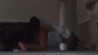 Wife cheats with husband's best friend she loves getting her ass ate & toes licked