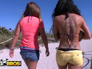 BANGBROS - Mercedes Lynn, Ranie Mae, and Christy Mac Have A Lesbian Threesome