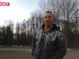 LETSDOEIT - German Milf Tricked Into Sex By Amateur Guy