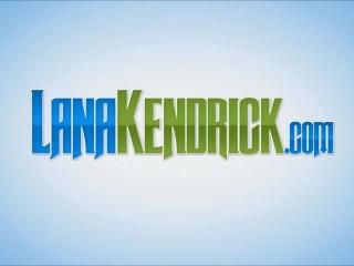 Lana Kendrick flaunting her big boobs while enjoying in jacuzzi