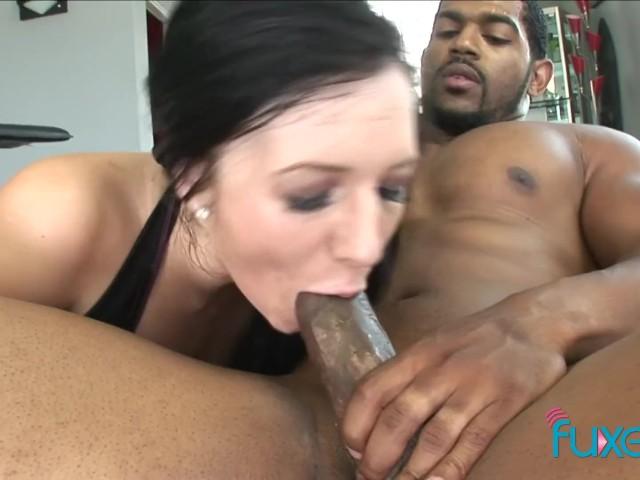Ashli Orion Interracial Anal