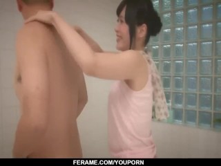 Tsukushi drives the wet dick deep in her mouth - More at javhd.net