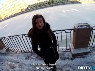 Dirty Flix - Vika Volkova - Tourist fucks local cutie