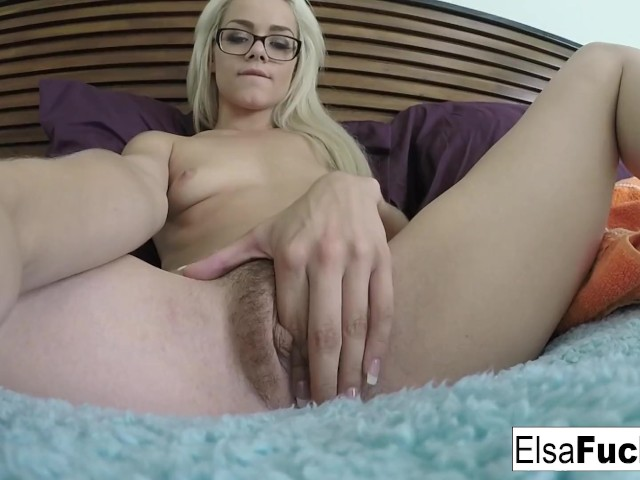 Playing Her Hairy Pussy