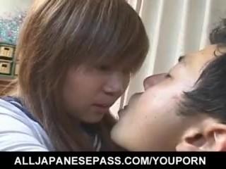 Mikan Tokonatsu leaves man with big cock to fuck her hard - More at hotajp.com