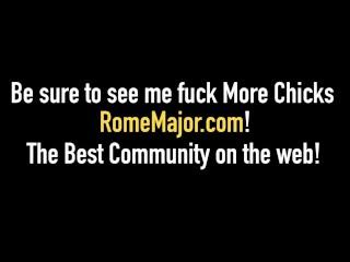 Black Banger Rome Major Fucks Cracker Hottie Nadia White!
