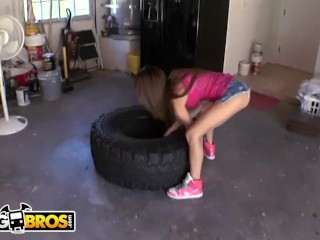 BANGBROS - Little Latina Veronica Rodriguez Gets Power Fucked By Johnny Castle