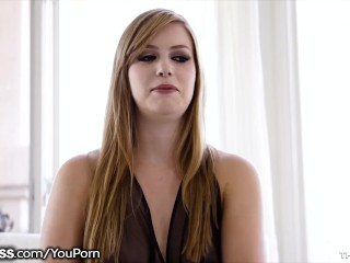BlowPass Dolly Leigh Extreme Deepthroating Facefuck