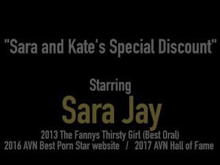 Super Curvy Milfs Sara Jay & Kate Faucett Bang Black Cock!