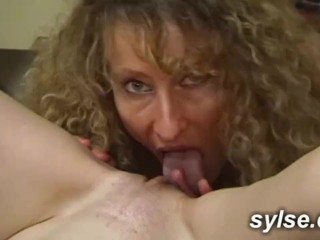 French teachers and secretary in public sex
