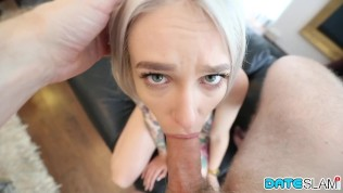 Date Slam - Older guy fucks young blonde hottie on 1st date - Part 1
